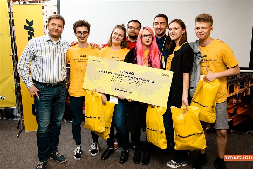 Команда из БГТУ стала победителем пятого международного финтех-хакатона